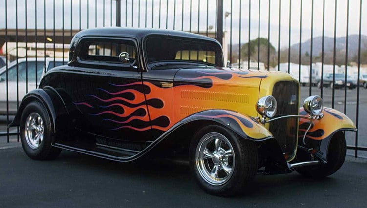 How did hot rods and custom cars become popular?